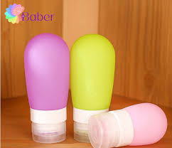 Decorative Bottles For Shampoo And Conditioner 100ml Silicone Refillable Travel Cosmetic Containers Hotel Shampoo 84