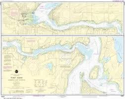 Nautical Charts Online Noaa Nautical Chart 18457 Puget