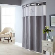 gray waffle shower curtain. fabric shower curtain \u0026 liner set gray waffle