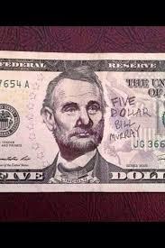 Five Dollar Bill Murray - Imgur via Relatably.com