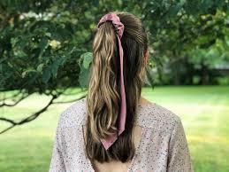 Edge Hair Design Cork Trendy Diy Hair Scrunchies Using Upcycled Neck Ties