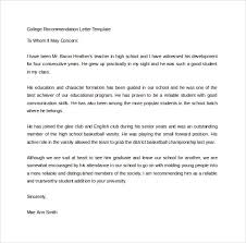Collection of Solutions Letter Re mendation Template For Student Word Format Layout