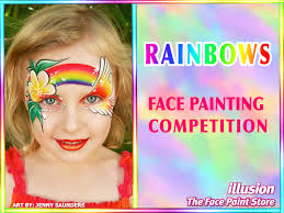 rainbows face painting competition winners announced