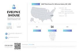 Evelyn E Shouse, (336) 924-0306, 2687 Oak Grove Cir, Winston Salem ...