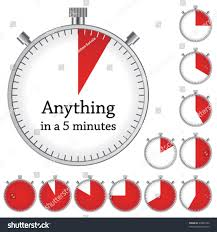 How To Make A One Minute Timer Vector Timer Easy Change Time Every Stock Vector Royalty Free
