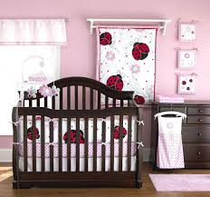 black and pink nursery bedding custom how to make a bed safety rail white crib sets