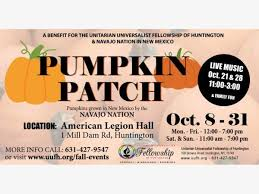 Oct 26 Pumpkin Patch For The Pickin At American Legion Hall