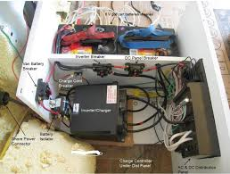 install electrical build a green rv electrical center for rv conversion