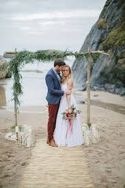 bohemian beach wedding inspiration 100 layer cake Wedding Inspiration Ireland bohemian beach wedding Ireland Cliff Wedding