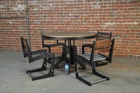 Vintage Industrial Round Table Vintage Industrial Furniture