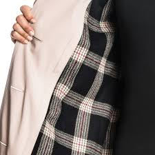 audrey classic double ted trench coat with detachable flannel liner