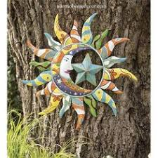 metal colorful moon sun stars decor garden indoor outdoor patio wall sculpture on extra large metal outdoor wall art with extra large metal sun wall art sun face metal outdoor wall art