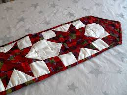 1047 best Christmas Runners images on Pinterest | Centerpieces ... & star Christmas table runner free pattern Adamdwight.com