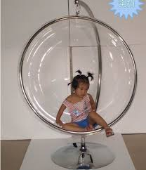 Top,bubble chair, indoor swing egg chair, space sofa, transparent sofa,Hanging  Bubble Chair+Acrylic Material+Transparent Color-in Living Room Chairs from  ...