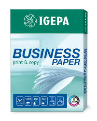 Business Paper Igepa Group Igepa Business Paper Print Copy Fsc Agentur Branchen