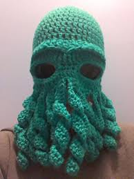 Crochet Octopus Hat Pattern Enchanting Ravelry Cthulhu Octopus Hat Pattern By Amy Hitchcock