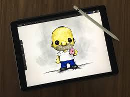 Drawing On Ipad Pro Ipad Pro By Charlie Waite On Dribbble