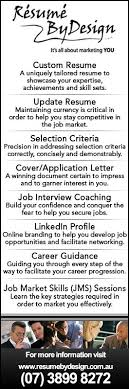 Rsum By Design - Resume Writing Services - Morningside regarding Resumes  By Design
