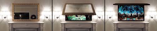 How To Hide Tv Two Way Mirror Tv 76 Enchanting Ideas With Tv Hidden Behind Mirror