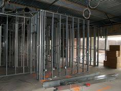 interior metal framing. Metal Stud Construction | In A New Complex. Interior Walls Framed With Studs Framing W