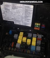 fuse box 1998 2005 mercedes benz ml location diagram 2001 mercedes c240 relay diagram at C240 Fuse Box