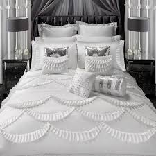 by ca amore ruffles duvet cover in white king