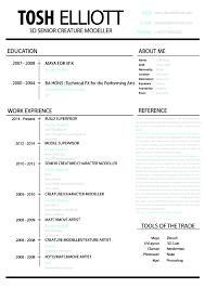 Resume Entertainment Industry Resume