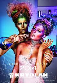 studio of make up just received our kryolan makeup calender for 2016 it is