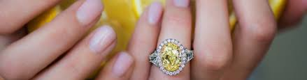 Yellow Diamond Vs White Diamond Yellow Diamond Engagement Rings Yellow Diamond Rings