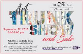 the village of meyerland art trunk show