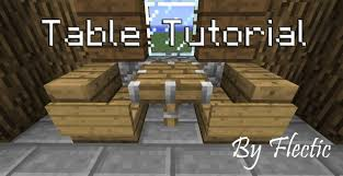 how to make a table in minecraft. Modren Minecraft Tutorial How To Make Fancy Tables With World Edit And To Make A Table In Minecraft O