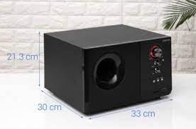 Loa vi tính ENKOR S2880 đen 2.1   Loa Bluetooth