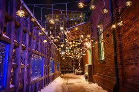 Winter Festival Of Lights Toronto Toronto Light Festival At The Distillery Historic District