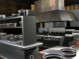 restaurant kitchen layout 3d. Restaurant Kitchen Design Ideas Layout 3d Decorating 610587 Best Decor A