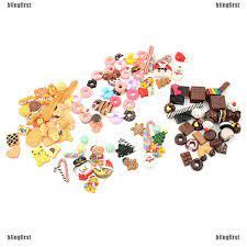 Set 30 búp bê tỉ lệ 1 : 12 làm bánh kẹo ăn tráng miệng dễ thương cho bé