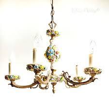 chandeliers capodimonte porcelain chandelier antique mini white in distressed medium size of vintage arm fl