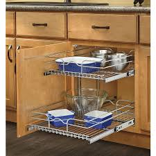Kitchen Shelf Organizer Shop Cabinet Organizers At Lowescom
