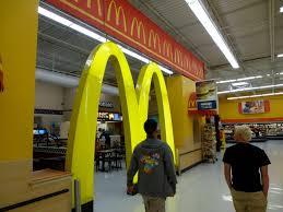 walmart supercenter mcdonald s. Interesting Walmart Photo Of Walmart Supercenter  Kissimmee FL United States McDonaldu0027s  Inside And Mcdonald S T