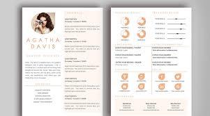 Creative Resume Templates Word Sumptuous Design Design Resume