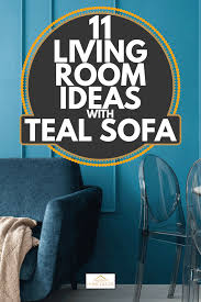 11 living room ideas with teal sofa