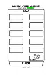School Bus Seating Chart 44 Reasonable Free Printable School Bus Seating Chart