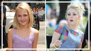 AnnaSophia Robb | Amazing Transformation from 4 To 23 Years Old - YouTube
