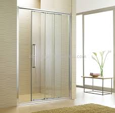 one fixed two movable shower glass door sliding shower fixed glass panel shower door