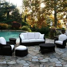 Indoor Patio patio chair with hidden ottoman 1052 by xevi.us