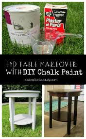 after researching diffe chalk paint recipes i finally landed on this one from the happy housie and decided to give it a try