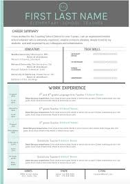 Stand Out Resume Templates Simple Resume Template That Stands Out Templates Stand Stunning Inspiration