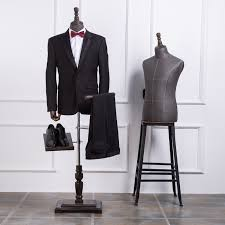 Suit Display Stands Online Shop High quality half body mannequin cloth mannequin male 5