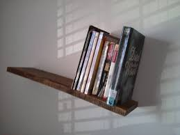 ... Angled Bookshelf Stylish Slanted Shelf ...