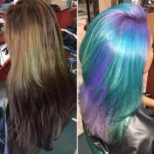 Color Transformation Via Black Hair Information