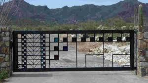 iron works welding work steels gates doors railing tin shades racks sliding channel gates grill mahadev engineering jodhpur